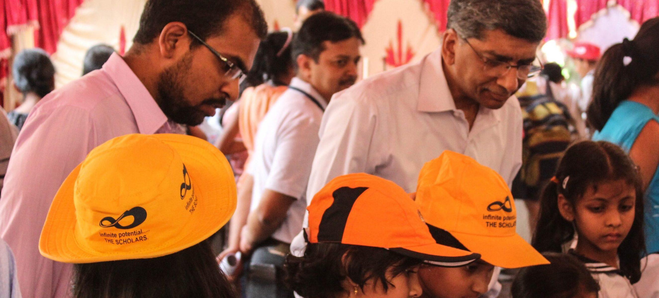 Kids' Zone visit by Director (IISc)